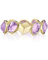 """Paolo Costagli - Purple Sapphire """"ombre"""" Band Ring - Lyst"""