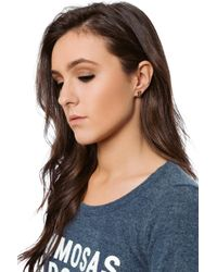 bevello - Hashtag Stud Earring - Lyst