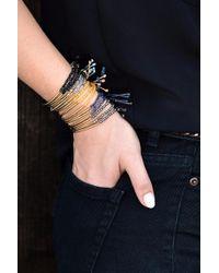 Gorjana - Power Gemstone Bracelet/ Pyrite - Lyst