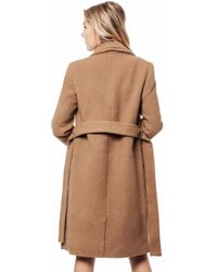 Vero Moda | Pisa Long Wool Coat | Lyst