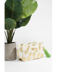 Shiraleah - Pineapple Cosmetic Pouch - Lyst
