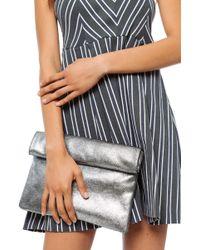 Moda Luxe - Gianna Metallic Clutch - Lyst