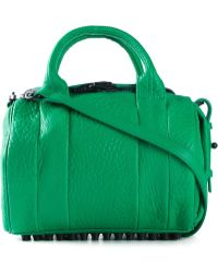 Alexander Wang Rockie Studded Leather Bag - Lyst