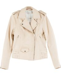 Paul & Joe Biker Leather Jacket - Lyst