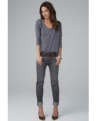 Velvet By Graham & Spencer Jenny Boyfriend Jean - Lyst