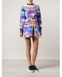 Manish Arora Ice Cream Moon Skirt - Lyst