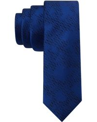 Calvin Klein Silk Abstract Print Tie - Lyst