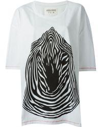 Henrik Vibskov Smash Big Printed T-shirt - Lyst