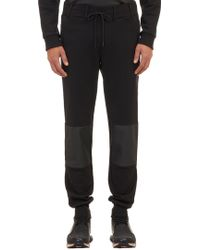 Y-3 Tech Coated-patch Sweatpants - Lyst