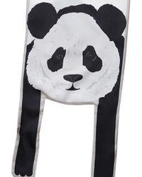 Cléo Ferin Mercury - Panda Silk Twill Scarf - Lyst