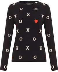 Chinti & Parker Hugs and Kisses Sweater - Lyst