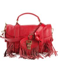 Proenza Schouler PS1 Small Leather Satchel - Lyst