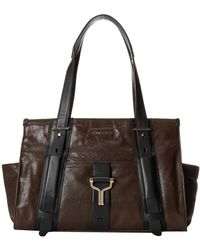 Cole Haan Brown Chesney Satchel - Lyst