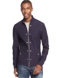Inc International Concepts Quilted Zinc Jacket - Lyst