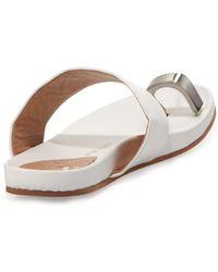 Vc Signature Capria Toe-Ring Footbed Sandal - Lyst