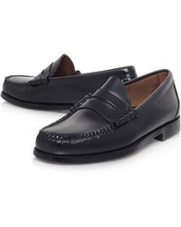 Bass Weejuns Larson Moc Penny Loafer - Lyst