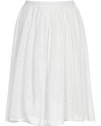 Stefanel Knitted Skirt - Lyst