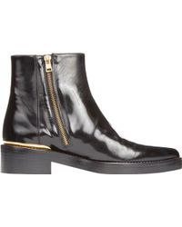 Marni Side-Zip Ankle Boots - Lyst
