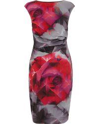 Coast Harmony Print Dress - Lyst