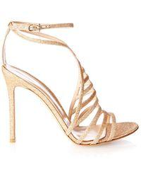 Gianvito Rossi Vega Glitter Sandals - Lyst