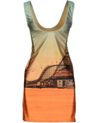 We Are Handsome Multicolor Short Dress - Lyst