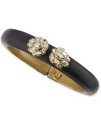 Alexis Bittar Small Ombre Lucite Bangle with Labradorite - Lyst
