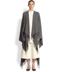 The Row Rina Cashmere Cape - Lyst