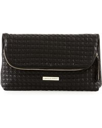 Danielle Nicole - Quilted Faux-Leather Fold-Over Clutch Bag - Lyst