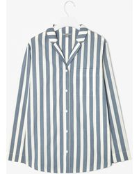 Cos Striped Pyjama Top - Lyst