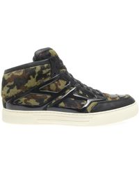 Alejandro Ingelmo Tron Camouflage Calfhair Trainers - Lyst