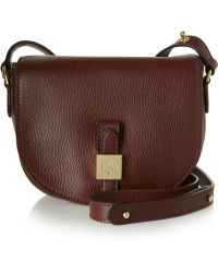 Mulberry Tessie Small Textured-leather Satchel - Lyst