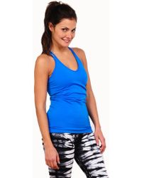 Tees by Tina | blue Sorbtek Double Strap Shelf Bra Cami | Lyst