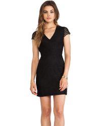 Dolce Vita Black Carese Dress - Lyst