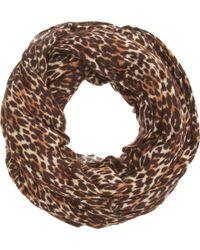 Barneys New York Cashmere-silk Jersey Infinity Scarf - Lyst