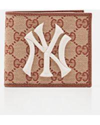 Gucci - Portafoglio Con Patch Ny Yankees - Lyst