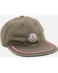 981b8be33cc Lyst - Moncler Classic Baseball Cap in Blue for Men