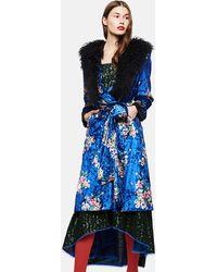 Duro Olowu - Floral Print Wrap Dress - Lyst