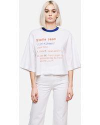 Stella Jean - T-Shirt Con Scritte - Lyst