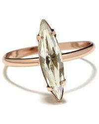 Bing Bang - Crystal Shard Ring - Lyst