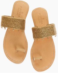 Aspiga Luna Sandals - Gold