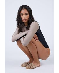 byJAMES - Cage Strappy Sandals - Nude - Lyst