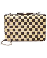 KATE CHAN - Black And White Sinawali Clutch - Lyst
