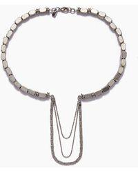 Vanessa Mooney - The Kalani Necklace - Silver - Lyst