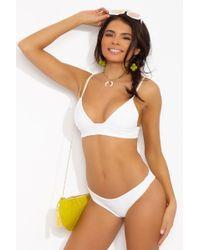 Tori Praver Swimwear   Daniela Top   Lyst