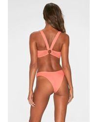 L*Space - Julia Bikini Top - Neon Pink - Lyst