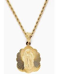 Vanessa Mooney - The Mother Madonna Starburst Necklace - Gold - Lyst