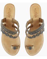 Aspiga - Rosa Sandals - Silver - Lyst