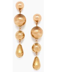 Jonesy Wood - Bronx Earrings - Gold - Lyst