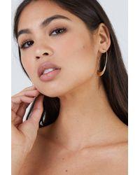 Soko Jewelry - Mezi Large Hoop Earrings - Brass - Lyst