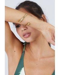 Soko Jewelry - Twisted Dash Cuff Bracelet - Brass - Lyst